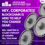 Artwork for Hey, Corporates! Blockchain is here to help you change gear! Will Martino & Stuart Popejoy of Kadena tell you how. #64