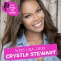 Artwork for Miss USA 2008 Crystle Stewart - Her Journey to the Miss USA Title, Her Acting Career, How She and Tyler Perry Met and Entrepenuership