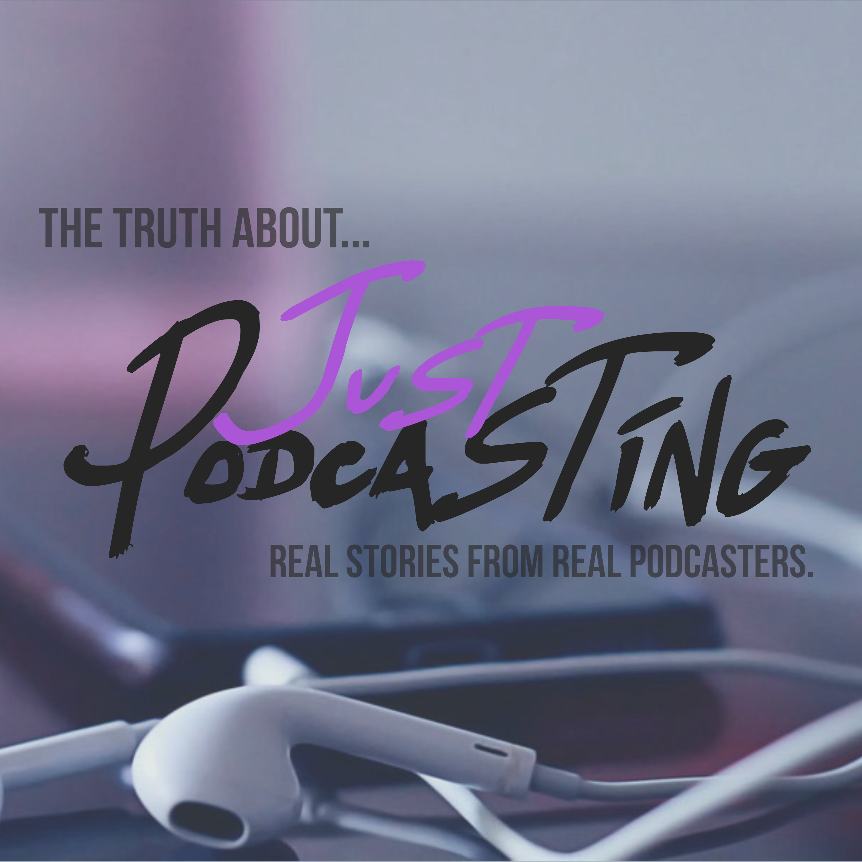 Just Podcasting show art