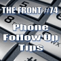 Artwork for Phone Follow Up Tips (The FRONT #74)