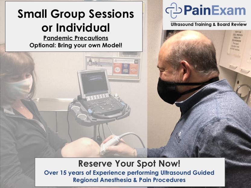 Ultrasound nerve block course