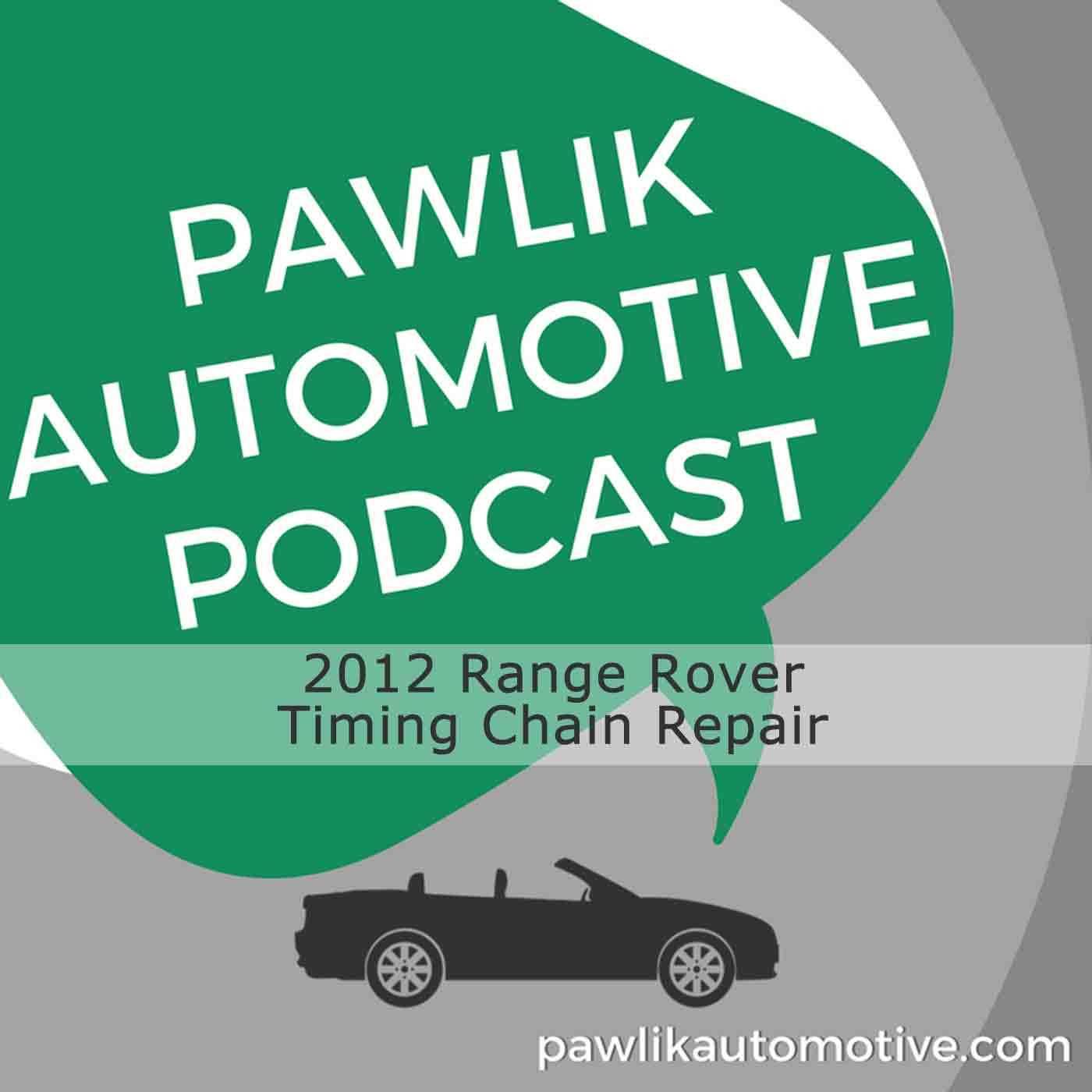 Artwork for 2012 Range Rover Timing Chain Repair