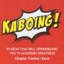 Artwork for Kaboing! Chapter Twelve | Easy | Chuback Education