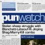 Artwork for 116 - Stolen sheep struggle with Blanchett-Labeouf-Xi Jinping Shag-Marry-Kill combo
