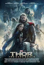 Artwork for The Marvel Vs DC movie mash-up- 'Thor the Dark World'
