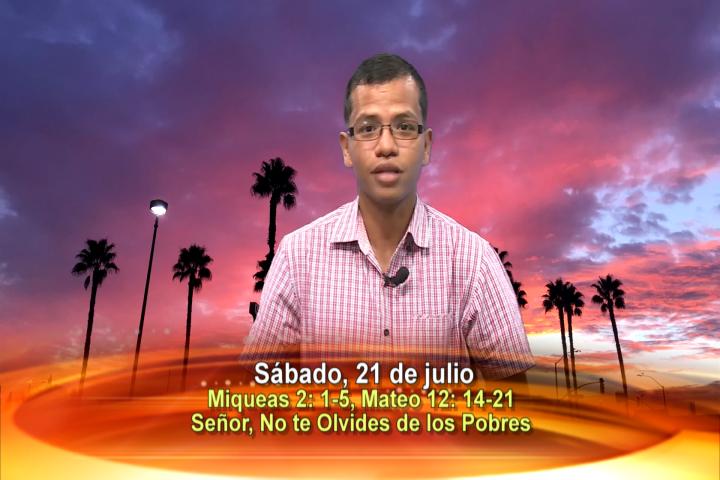 Artwork for Dios te Habla con Luis Avila , Tema el hoy: Señor, no te olvides de los pobres
