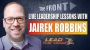 Artwork for Live Leadership Lessons from The FRONT with guest Jairek Robbins