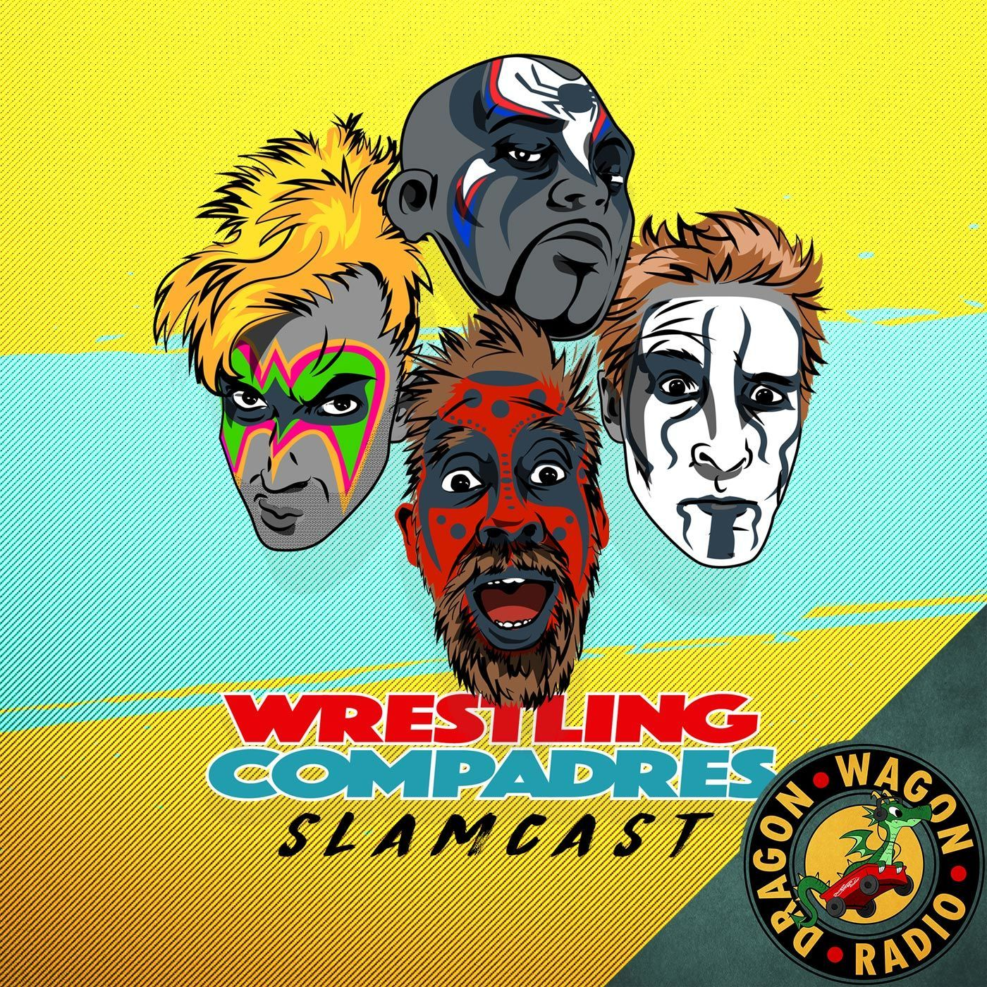 Artwork for Summerslam Shapes Up, Twitter PC Policing, and Marty the Moth interview!