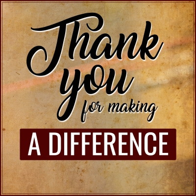 Thank You For Making a Difference show image