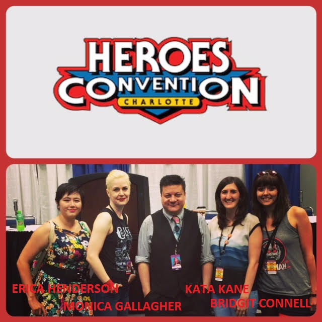 Episode 696 - More Heroes Con: Introverts vs Extroverts Panel w/ Bridgit Connell/Monica Gallagher/Erica Henderson/Kata Kane!