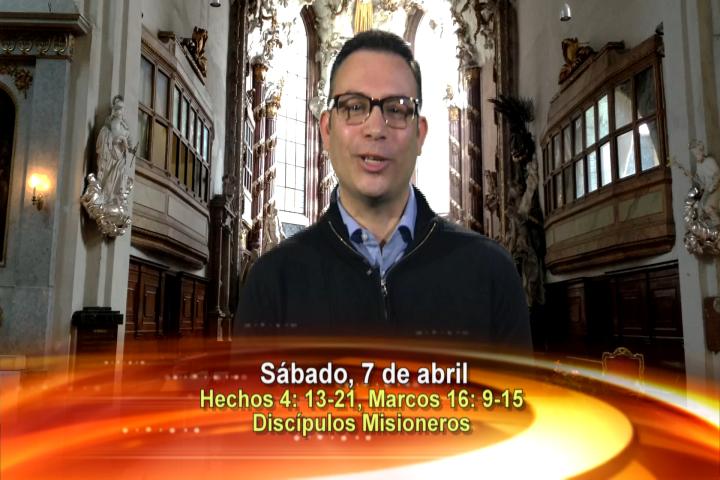 Artwork for Dios te Habla con Elder Samaniego;  Tema el hoy:  Discípulos Misioneros