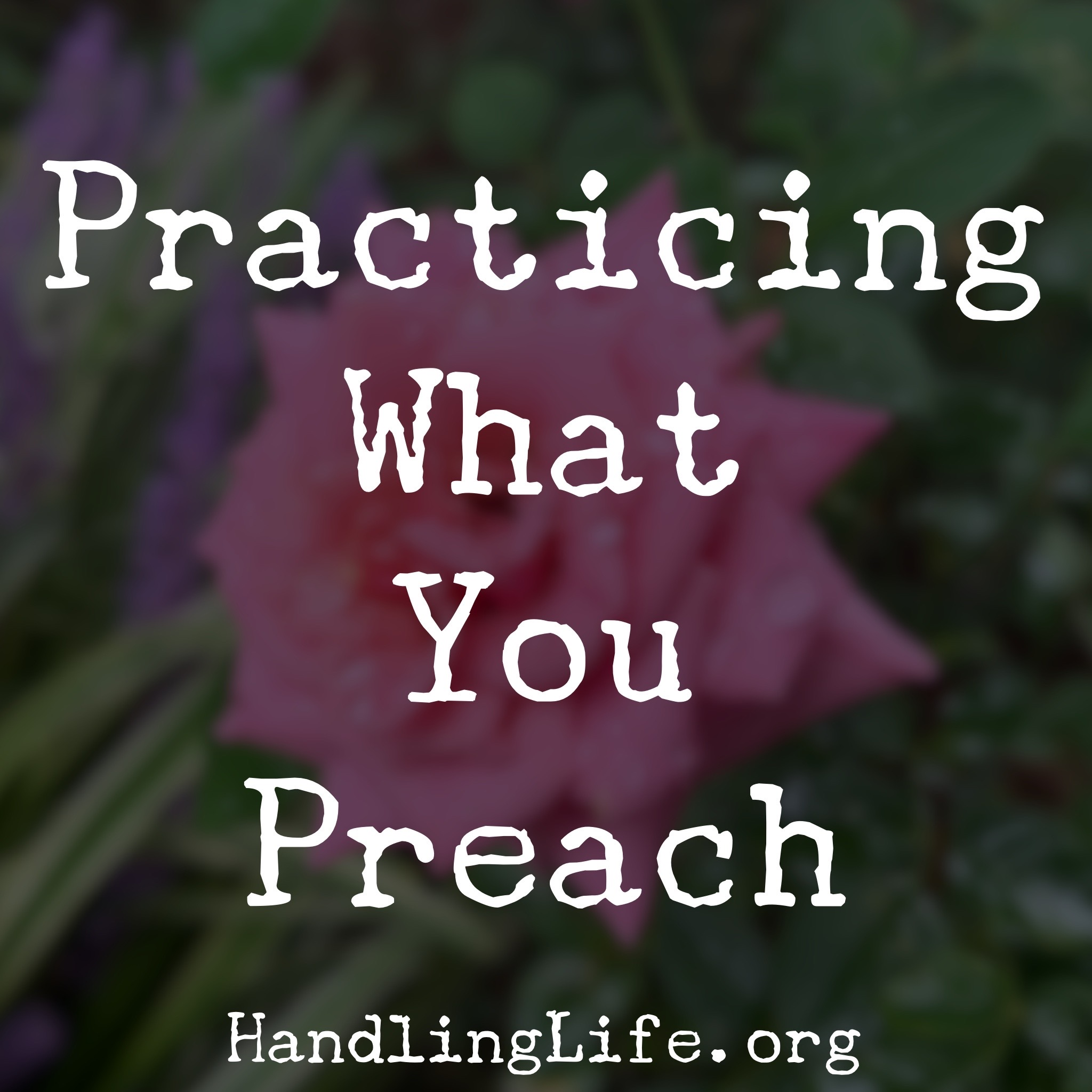 Artwork for Practicing What You Preach