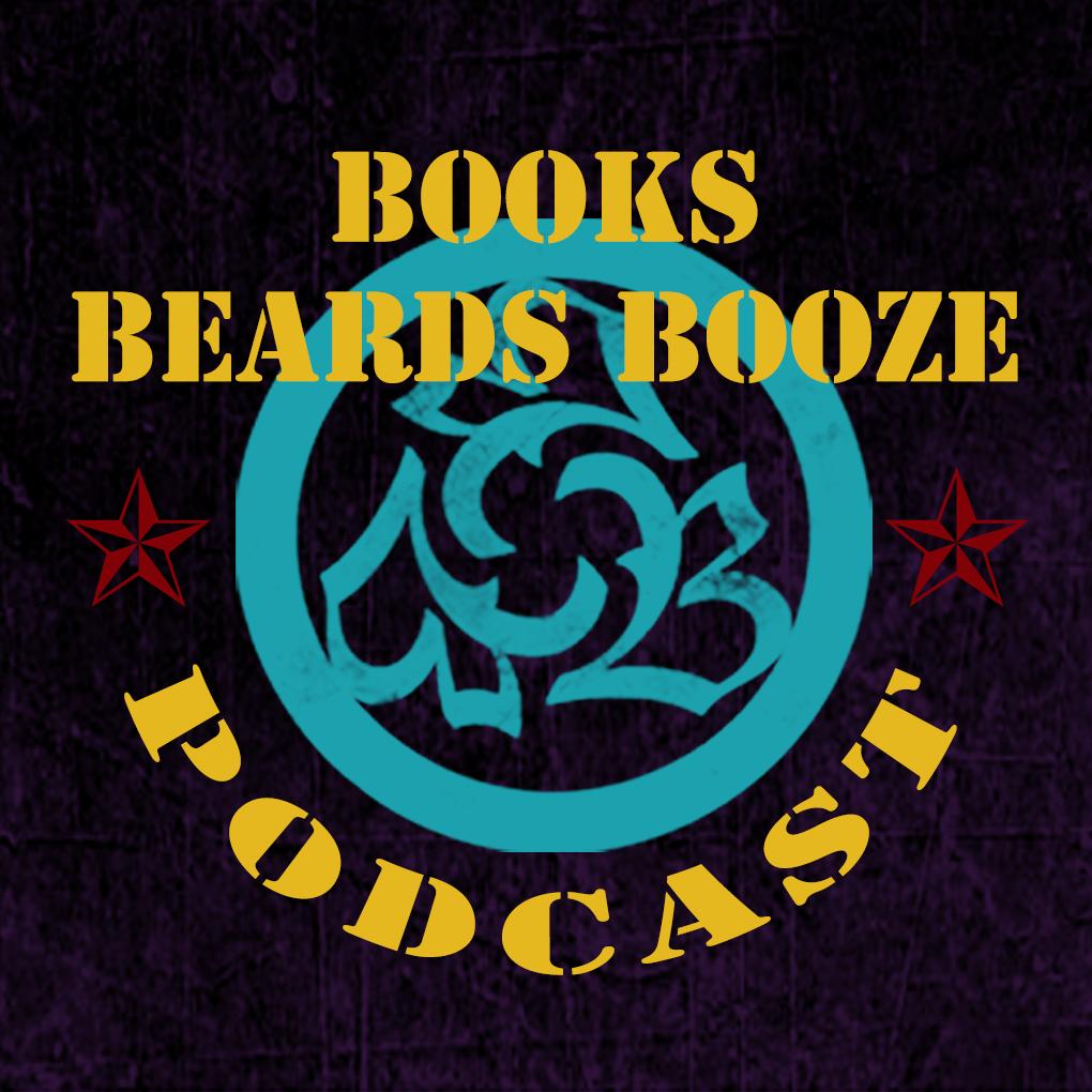 Books, Beards, Booze show art