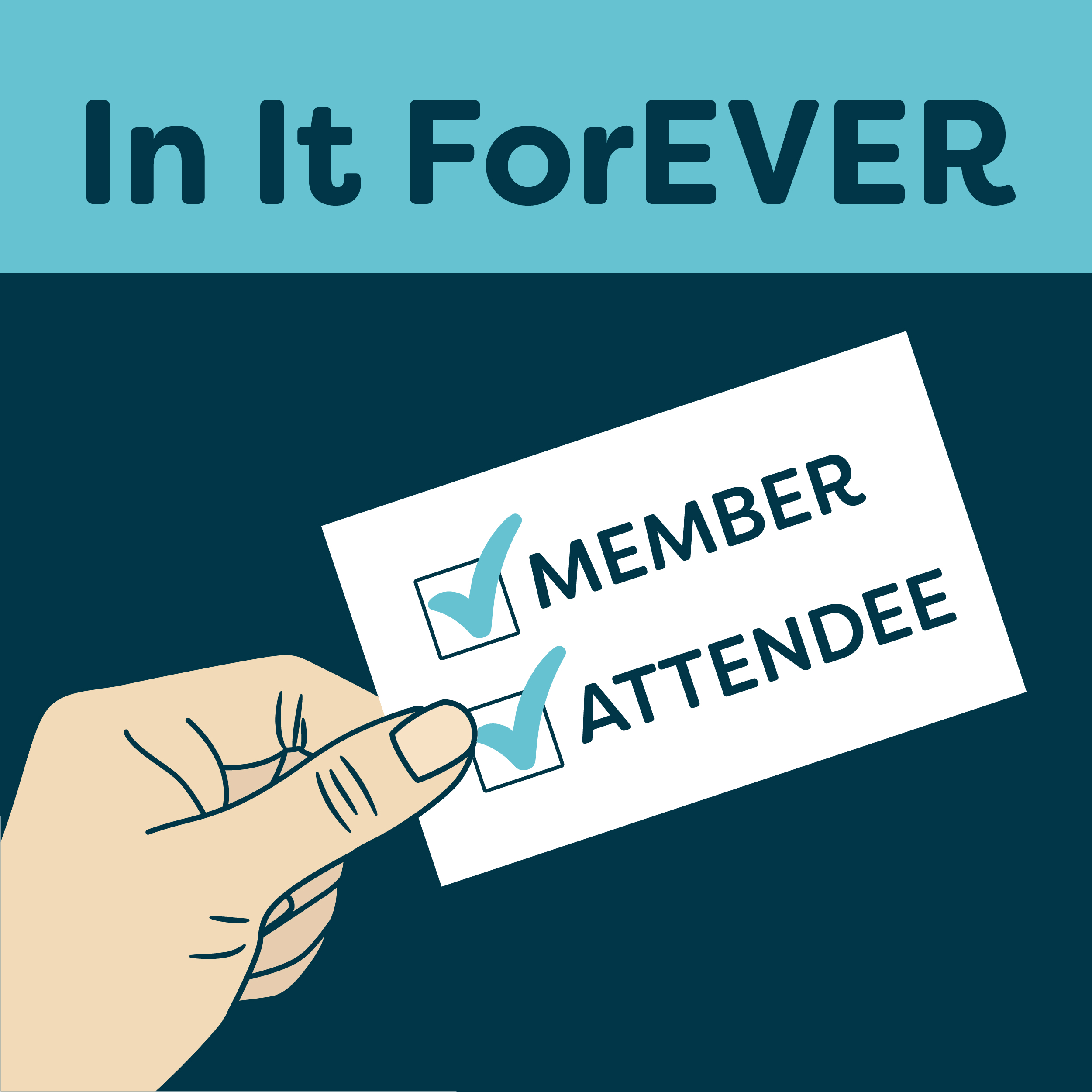 In It ForEVER | Helping Businesses Grow Through Events and Membership Programs show art