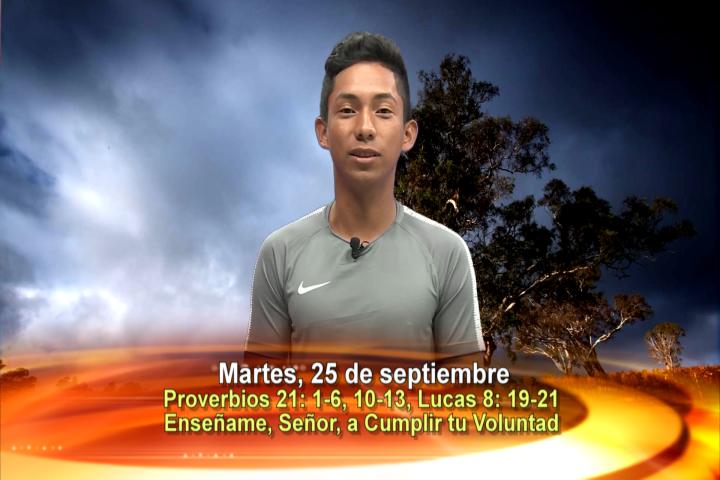 Artwork for Dios te Habla con Jorge Muñoz, Laico  Tema el hoy: Enseñame, Señor, a cumplir tu voluntad.