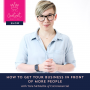 Artwork for 8: How to Get Your Business in Front of More People with Tara McMullin