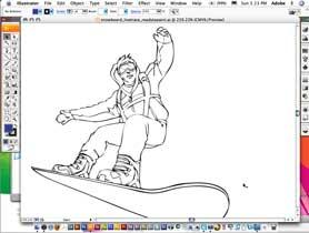 Enhanced LivePaint in Illustrator CS3