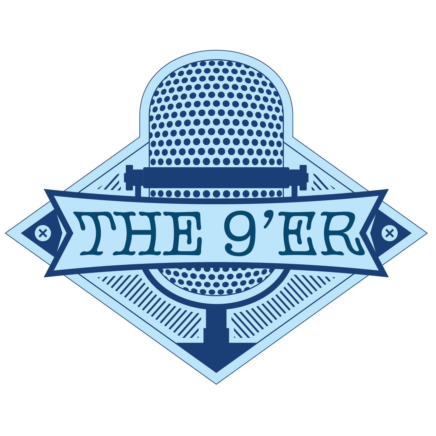 The 9er Podcast logo