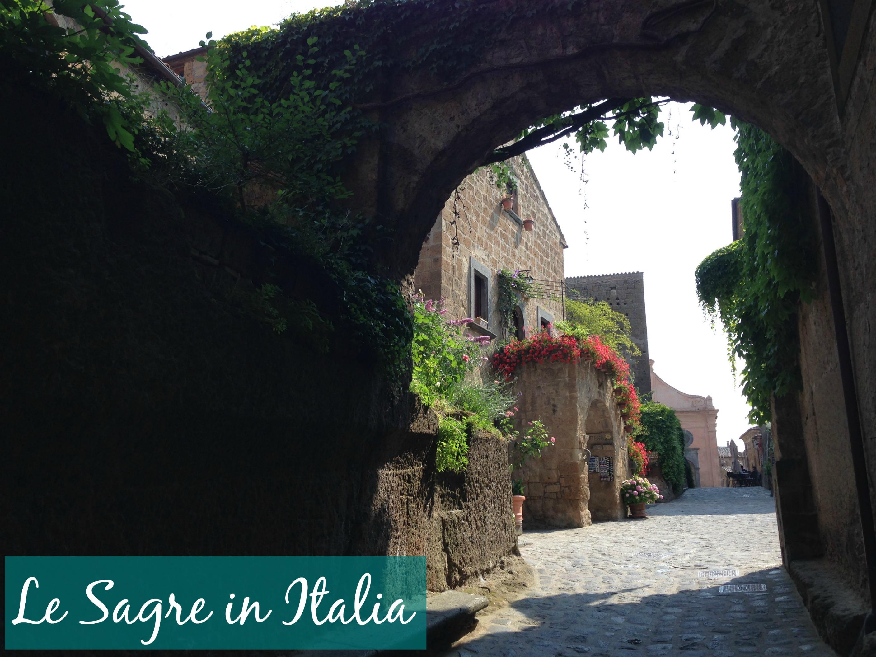 Le Sagre in Italia