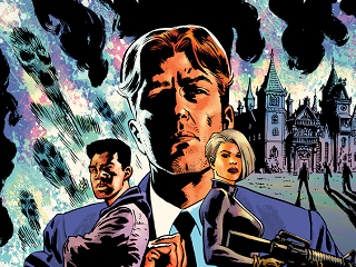 A CRIMINAL MASTERMIND GETS GHOSTED - A new Image/Skybound mini-series in July