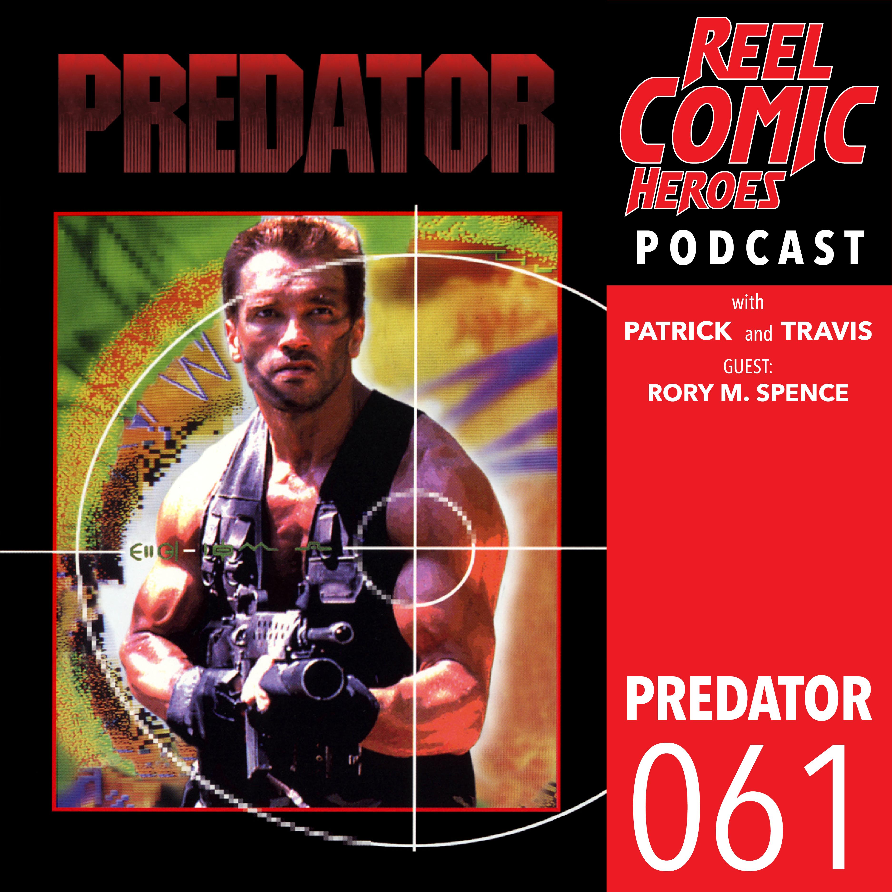 Artwork for Reel Comic Heroes 061 - Predator