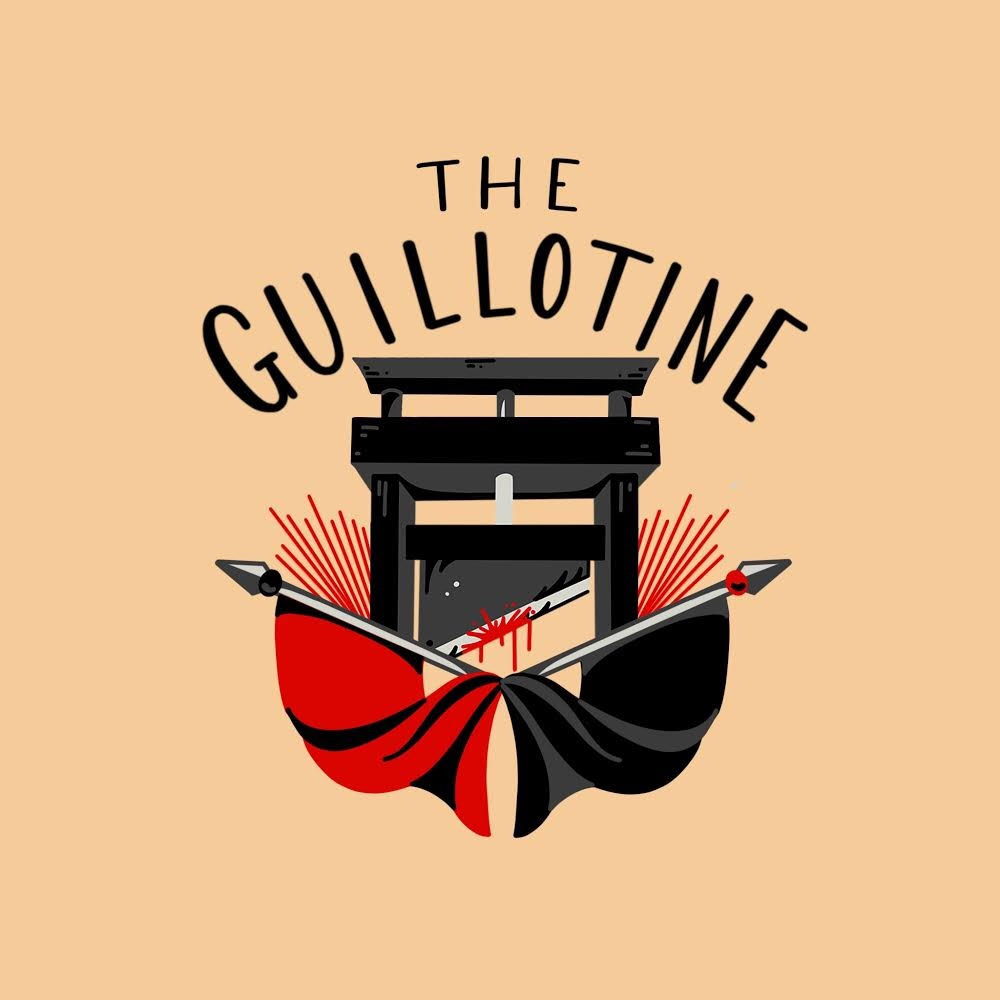 The Guillotine show art