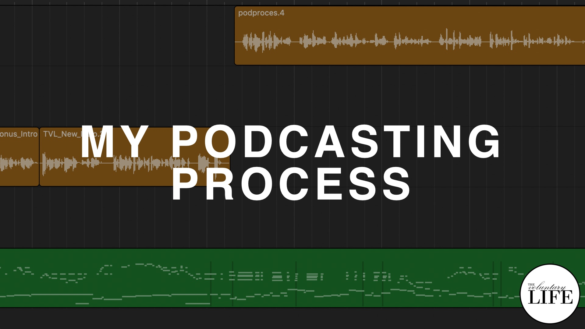 Bonus Episode 62: My Podcasting Process