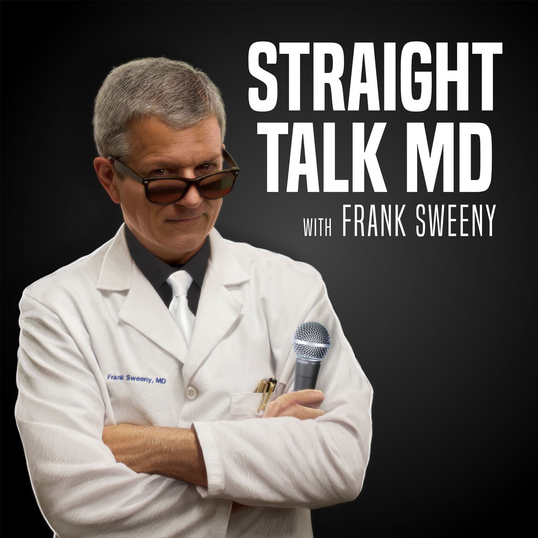 Straight Talk MD show art