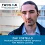 Artwork for Predicting Metabolic Pathway Dynamics w/ Machine Learning with Zak Costello - TWiML Talk #163