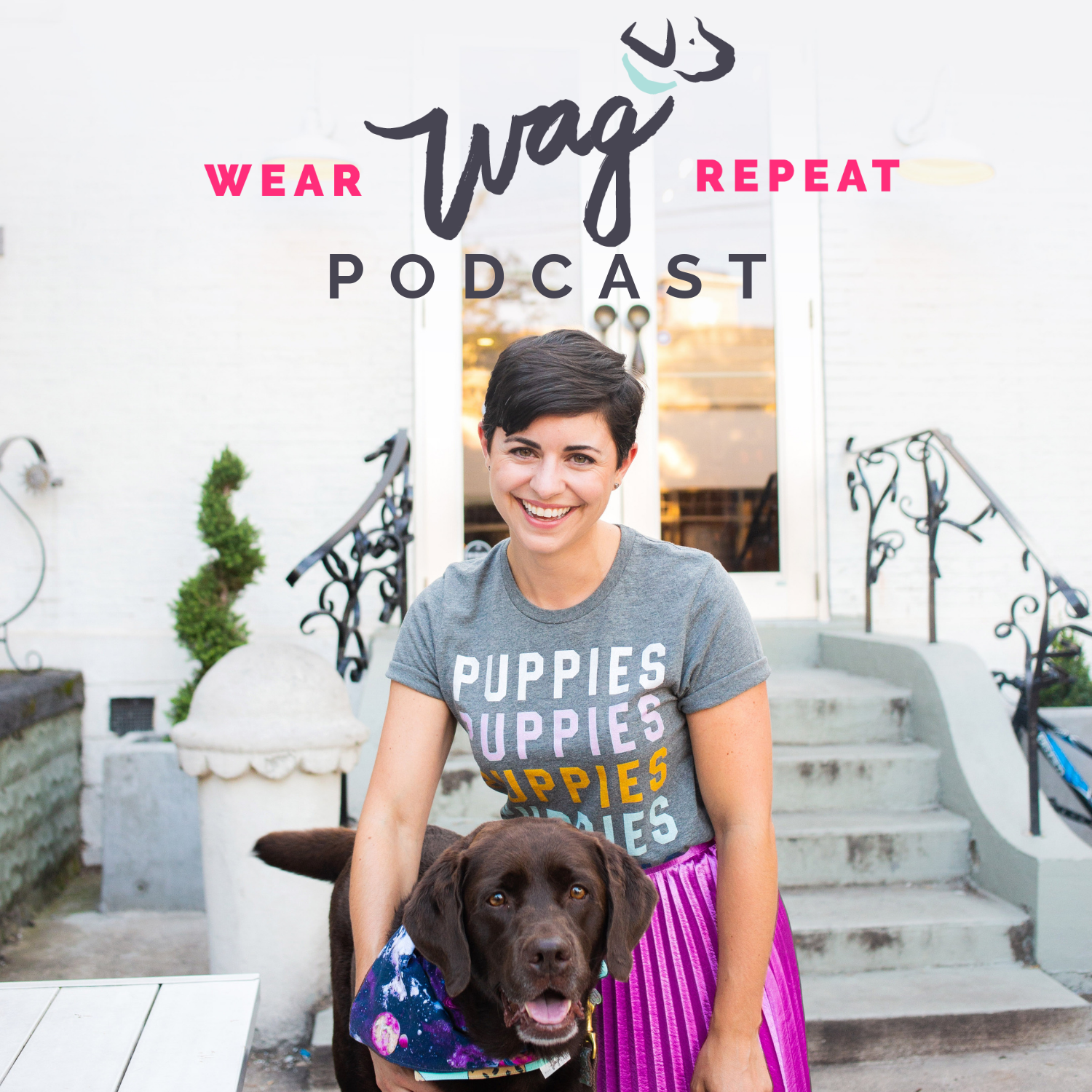 Wear Wag Repeat Podcast show art