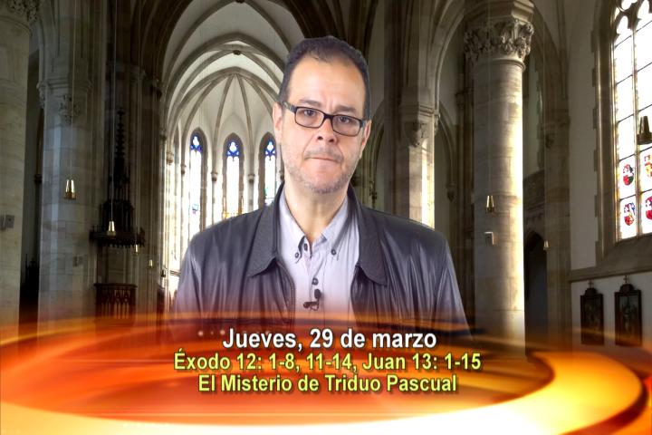Artwork for Dios te Habla con Vilson Monteiro, SVD  Tema el hoy: Darse, Conocerse y Encontrarse en El Misterio de Triduo Pascual