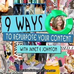 35 - Repurpose Content for Further Exposure with Janet E Johnson