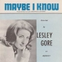 Artwork for Lesley Gore- Maybe I Know - Time Warp Song of The Day