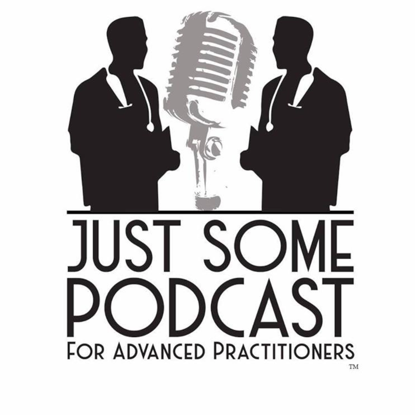 Just Some Podcast for Advanced Practitioners show art