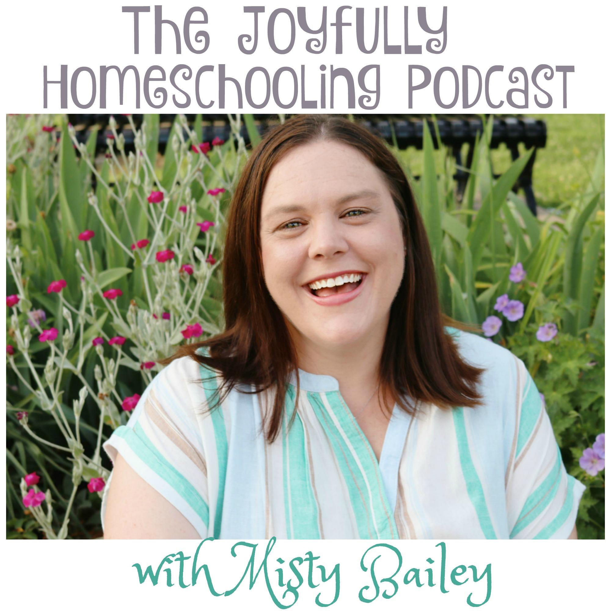 Joyfully Homeschooling show art