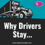 Artwork for Why Drivers Stay...