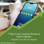 Artwork for 7 Ways to Use Customer Reviews to Build Credibility