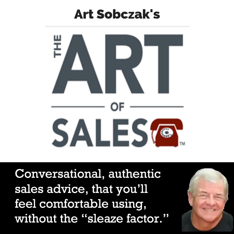 The Art of Sales with Art Sobczak show art