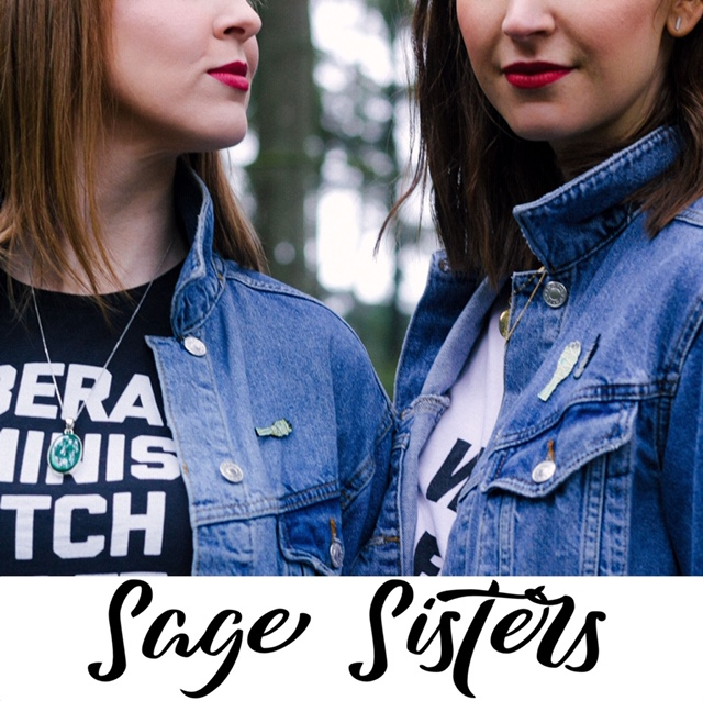 Sage Sisters Podcast show art