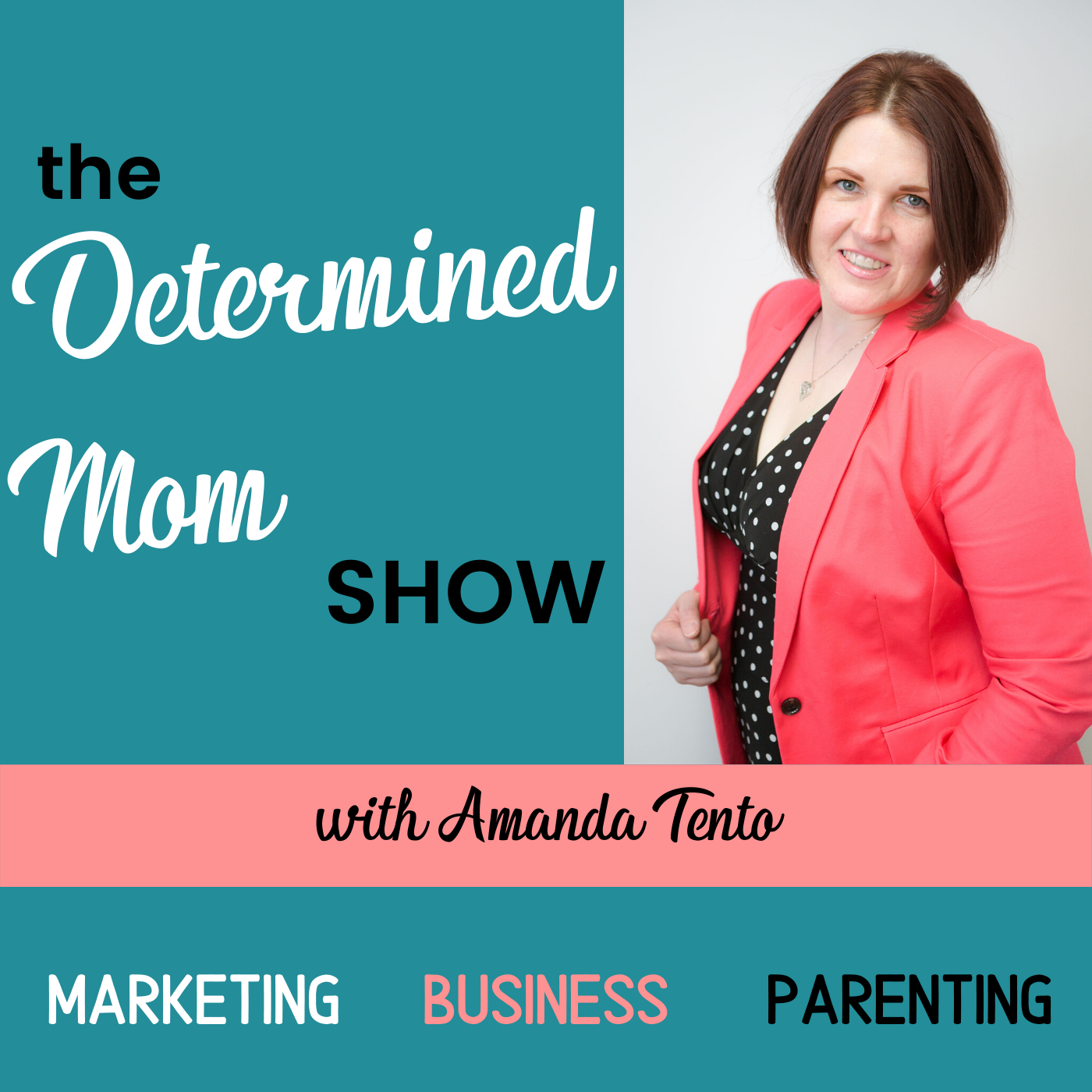 The Determined Mom Show show art