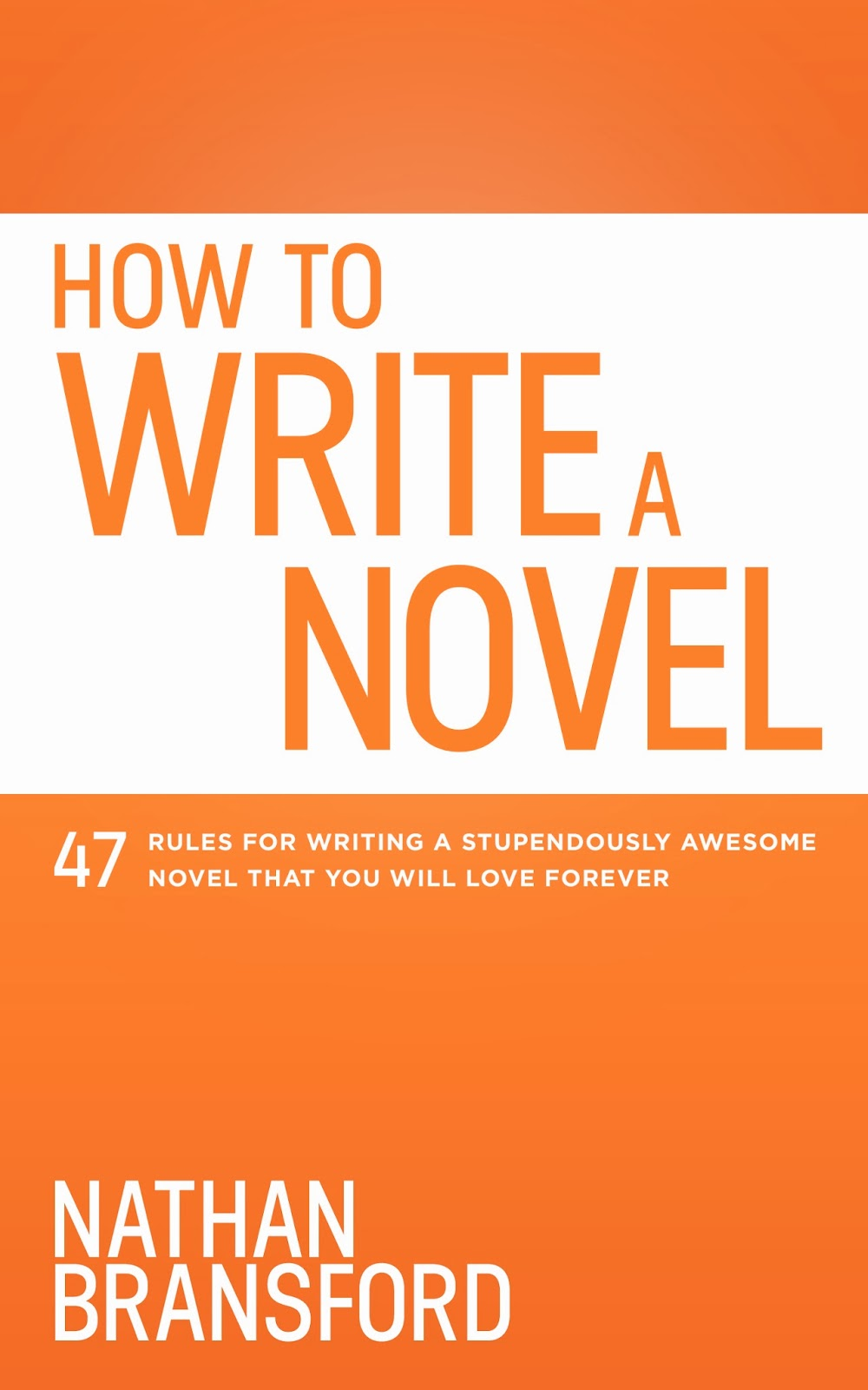 How to Write a Novel with Writers Digest Award Winning Blog Writer Nathan Bransford