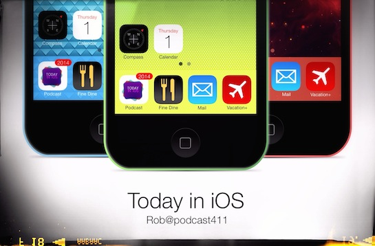 Today in iOS Podcast - The Unofficial iOS, iPhone, iPad, and