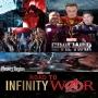 Artwork for Road To Infinity War... CAPTAIN AMERICA CIVIL WAR... Guest Host Kris Johnson