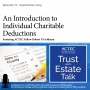 Artwork for An Introduction to Individual Charitable Deductions