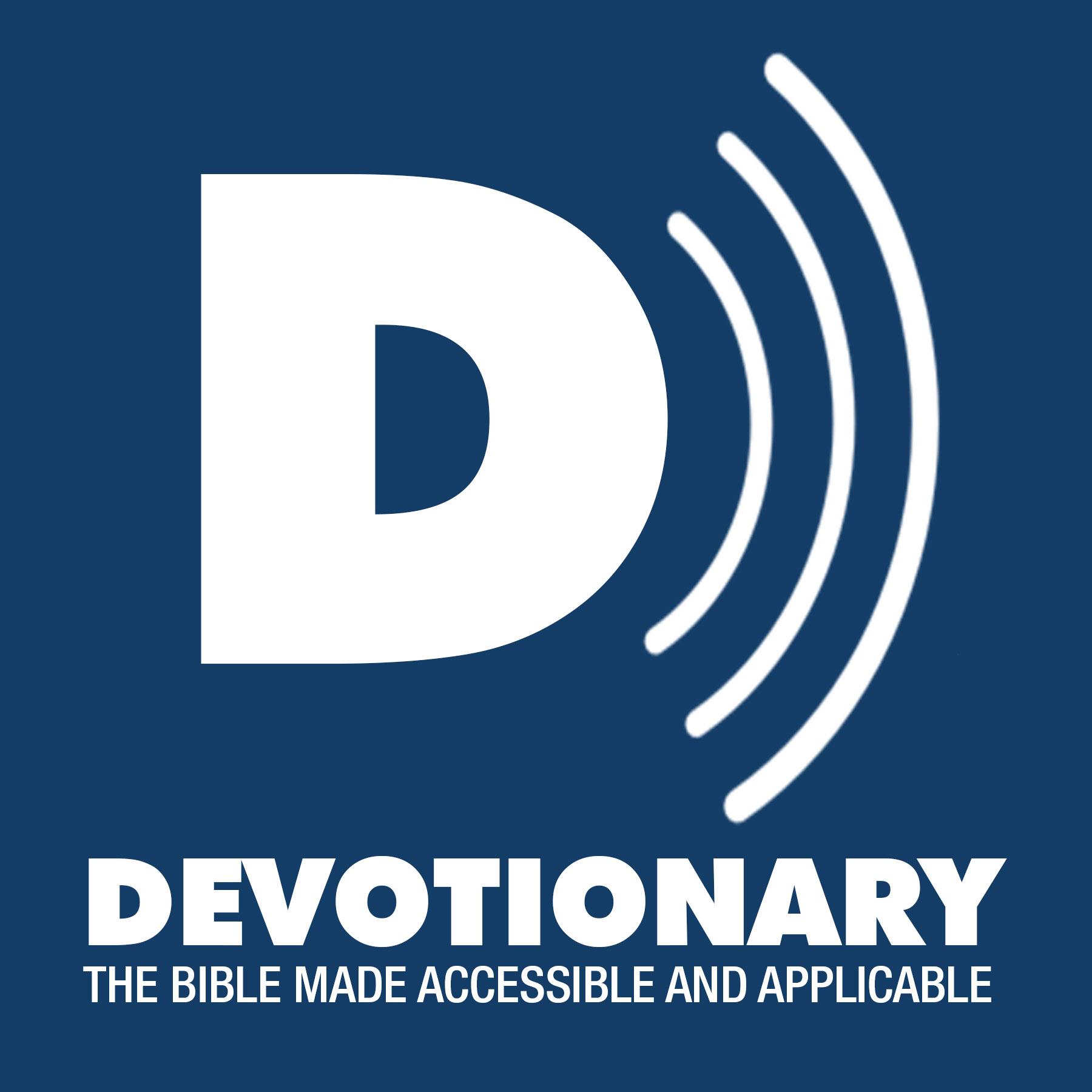 Devotionary Podcast show art