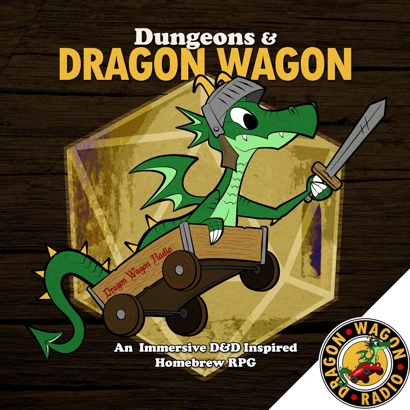 Dungeons and Dragon Wagon show art