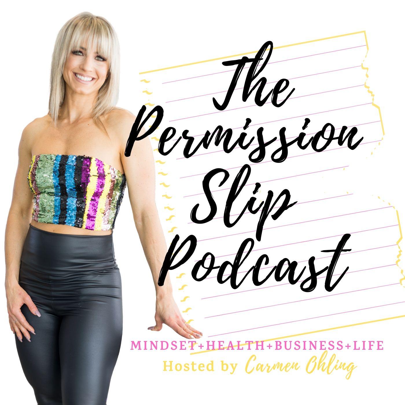 The Permission Slip Podcast show art
