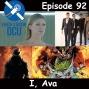 Artwork for The Earth Station DCU Episode 92 – I, Ava