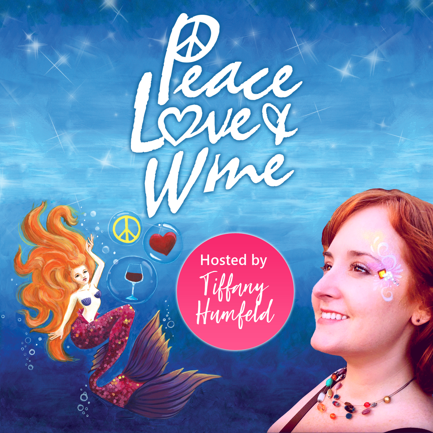 Peace Love And Wine Podcast show art