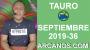 Artwork for HOROSCOPO TAURO - Semana 2019-36 Del 1 al 7 de septiembre de 2019 - ARCANOS.COM...